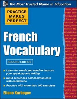 Book Practice Make Perfect French Vocabulary by Eliane Kurbegov
