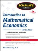 Book Schaum's Outline of Introduction to Mathematical Economics, 3rd Edition by Edward Dowling
