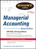 Book Schaum's Outline of Managerial Accounting, 2nd Edition by Jae Shim