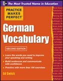 Book Practice Makes Perfect German Vocabulary by Ed Swick