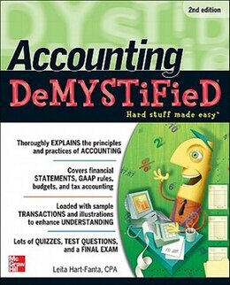 Book Accounting DeMYSTiFieD, 2nd Edition by Leita Hart
