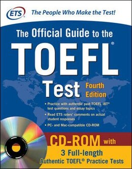Book Official Guide to the TOEFL Test With CD-ROM, 4th Edition by Educational Testing Service