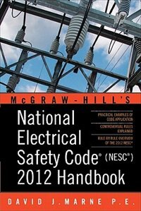 Book National Electrical Safety Code (NESC) 2012 Handbook by David Marne