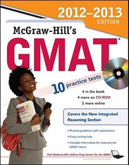 Book McGraw-Hill's GMAT with CD-ROM 2013 Edition by James Hasik