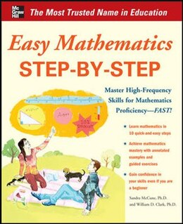 Book Easy Mathematics Step-by-Step by Sandra Luna McCune