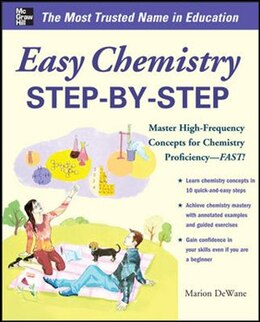 Book Easy Chemistry Step-by-Step by Marian DeWane