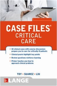 Book Case Files Critical Care by Eugene Toy