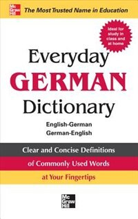 Book Everyday German Dictionary by Collins