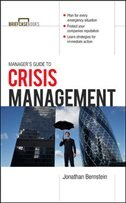 Book Manager's Guide to Crisis Management by Jonathan Bernstein