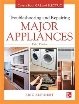 Book Troubleshooting and Repairing Major Appliances by Eric Kleinert