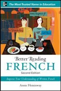 Book Better Reading French, 2nd Edition by Annie Heminway