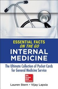 Book Essential Facts On the Go: Internal Medicine by Lauren Stern