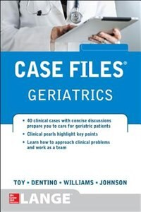 Book Case Files Geriatrics by Eugene Toy
