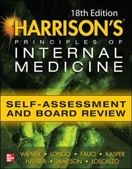 Book Harrisons Principles of Internal Medicine Self-Assessment and Board Review 18th Edition by Charles Wiener