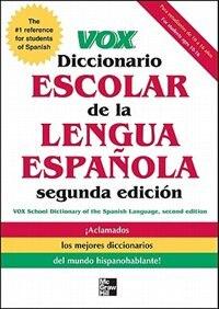 Book VOX Diccionario Escolar, 2nd Edition by Vox