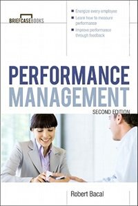 Book Performance Management 2/E by Robert Bacal