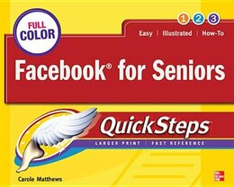 Book Facebook for Seniors QuickSteps by Carole Matthews