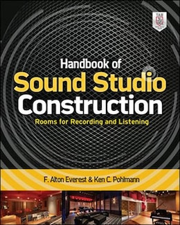 Book Handbook of Sound Studio Construction: Rooms for Recording and Listening by Ken Pohlmann