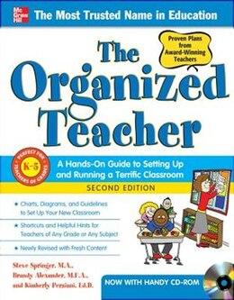 Book The Organized Teacher, 2nd Edition by Steve Springer