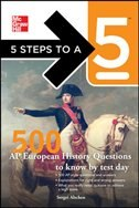 Book 5 Steps to a 5 500 AP European History Questions to Know by Test Day by Sergei Alschen