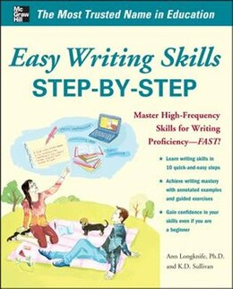 Book Easy Writing Skills Step-by-Step by Ann Longknife
