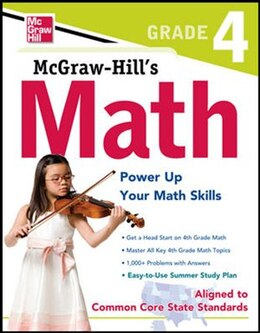 Book McGraw-Hill Math Grade 4 by McGraw-Hill Education