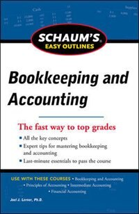 Book Schaum's Easy Outline of Bookkeeping and Accounting, Revised Edition by Joel Lerner