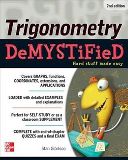 Book Trigonometry Demystified 2/E by Stan Gibilisco