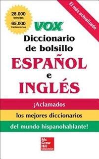 Book VOX Diccionario de bolsillo español y inglés by Vox
