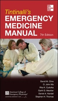 Book Tintinalli's Emergency Medicine Manual 7th Edition by David M. Cline