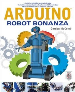 Book Arduino Robot Bonanza by Gordon McComb