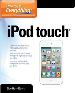 Book How to Do Everything iPod Touch by Guy Hart-Davis