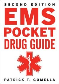 Book EMS Pocket Drug Guide 2/E by Patrick Gomella