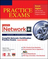 Robb tracy 4 books available chaptersdigo comptia network certification practice exams exam n10 005 fandeluxe Gallery