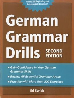 Book German Grammar Drills by Ed Swick