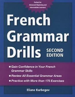 Book French Grammar Drills by Eliane Kurbegov