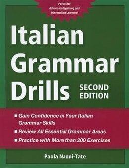 Book Italian Grammar Drills by Paola Nanni-Tate