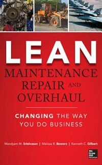 Book Lean Maintenance Repair and Overhaul by Mandyam Srinivasan