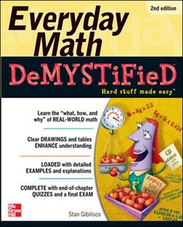 Book Everyday Math Demystified, 2nd Edition by Stan Gibilisco