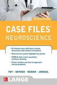 Book Case Files Neuroscience 2/e by Eugene Toy