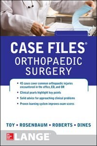 Book Case Files Orthopaedic Surgery by Eugene Toy