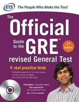 Book GRE The Official Guide to the Revised General Test with CD-ROM, Second Edition by Educational Testing Service
