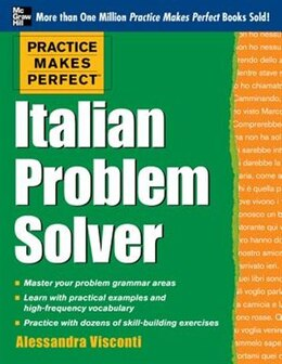 Book Practice Makes Perfect Italian Problem Solver: With 80 Exercises by Alessandra Visconti