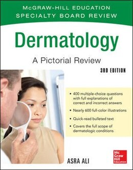 Book McGraw-Hill Specialty Board Review Dermatology A Pictorial Review 3/E by Asra Ali
