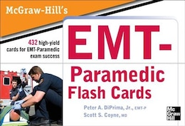Book McGraw Hill's Paramedic Flashcards by Jr., Peter A. DiPrima