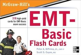 Book McGraw-Hill's EMT Flashcards by Jr., Peter A. DiPrima
