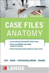 Book Case Files Anatomy 3/e by Eugene Toy