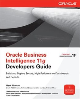 Book Oracle Business Intelligence 11g Developers Guide by Mark Rittman