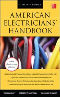 Book American Electricians' Handbook, Sixteenth Edition by Terrell Croft