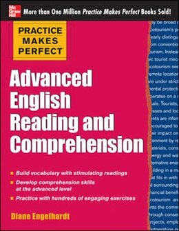 Book Practice Makes Perfect Advanced English Reading and Comprehension by Diane Engelhardt